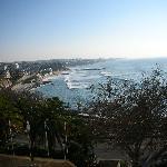 view from balcony towards Estoril