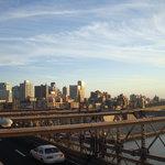 NYC - view from Brooklyn Bridge
