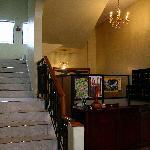 Front lobby of Coraza Hotel