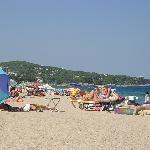 la plage a quelque pas