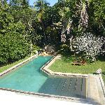 The pool as seen from our balcony