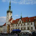 The square in Olomouc