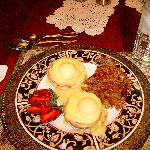 Excellent eggs benedict with made from scratch sauce