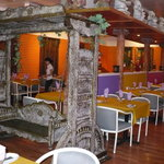 Palace swing & one side of restaurant