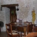 Un'angolo del ristorante