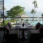 View from Z restaurant
