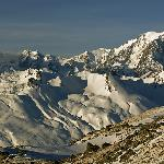 MtBlanc, seen from the upper part of Aiguille Rouge run