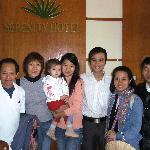 Group photo with manager and staff of Senerity
