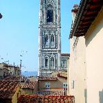 View from the breakfast room window-Giotto's campanile
