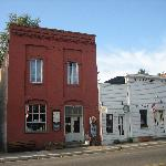 Down town area of Jacksonville, Oregon