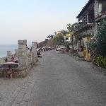 Afitos restaurants overlooking the gulf
