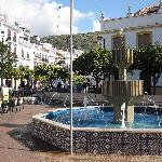 Torrox Pueblo plaza mayor