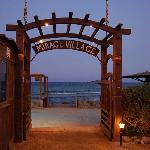 Mirage Village beach entrance