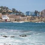 Across the water, Olas Altas
