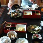 Japanese breakfast style