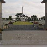 kranji war cemetery entrance