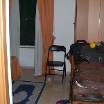 Teeny, tiny no-frills room