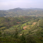 A beautiful view from top of Araku valley