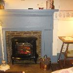 Fireplace in the Pineapple Room