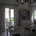Schöner Frühstücksraum