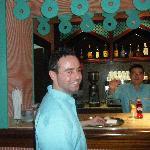 friendly bar staff paco and alex