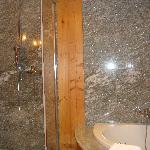 Bathroom in double chalet