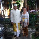 Ketut and Ayu