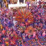 Alebrijes mexicanos, taller de Don Melchor (RIP) en Mitla