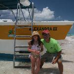 Friendly  Caicos dream Tour owner