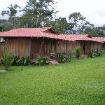 Row of cabinas