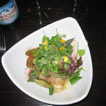 Salad with 30 cooked and raw items