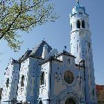 The Blue Church of St. Elizabeth, Bratislava