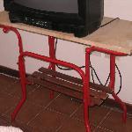 esta es la mesa de Tv