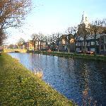 canal du côté du centre ville