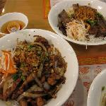 Vermicelli with beef and Vermicelli with chicken - Delicious!