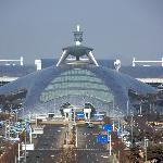 View of Incheon International from my room