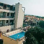 vista seconda piscina