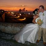 sunset wedding .......