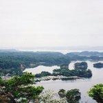 大高森から松島湾を望む