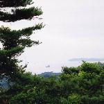 大高森から嵯峨渓方面を望む