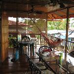Lula's veranda upstairs