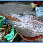 Swordfish for sale - Rue Cler