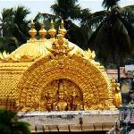 Gold domed Sri Vimanam