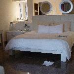 Bed in Ocean Front Casita