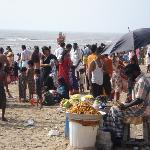 Tiruchendur - la spiaggia