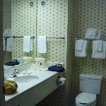 bathroom in king suite