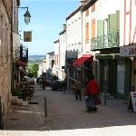 the streets of monflanquin