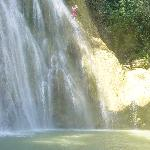 This is El Limon waterfall.