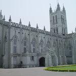 St. Paul's Cathedral church at kolkata