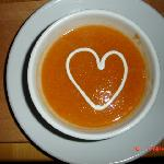Valentines evening soup - Food Glorious Food!
